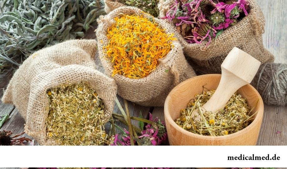 Препарат из смеси лекарственных трав