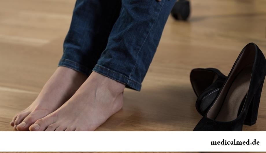 Отеки ног - возможное следствие нарушения функции почек
