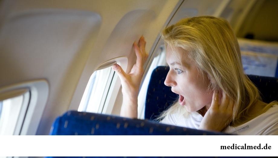 Аэрофобия (боязнь летать самолетами)