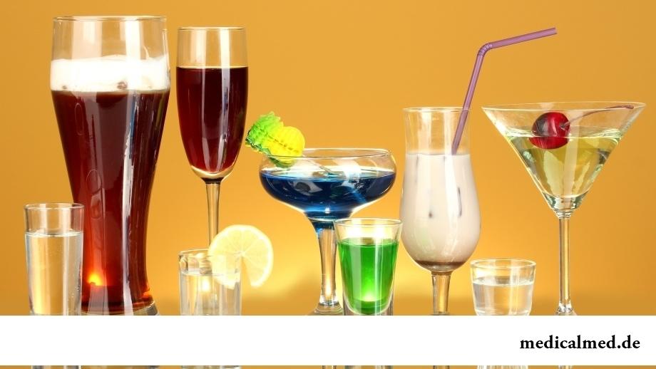 Die Folgen und die Prognosen beim Alkoholismus