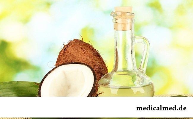Масло кокоса может убрать растяжки