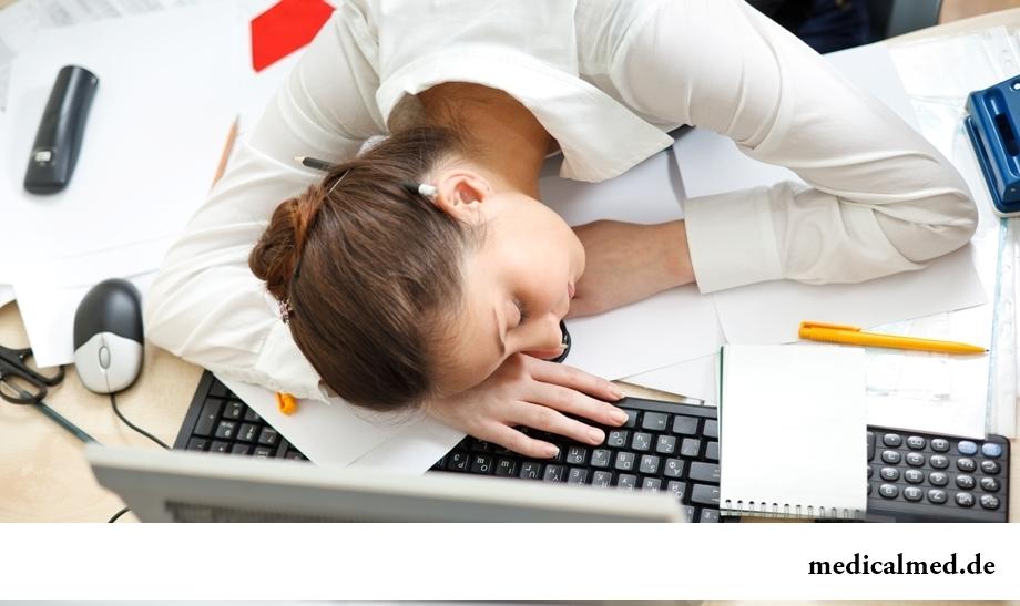 Недосыпание и усталость