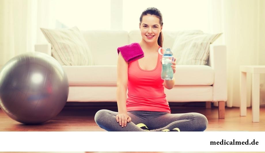 Миф 5: прием воды во время тренировок мешает похудеть