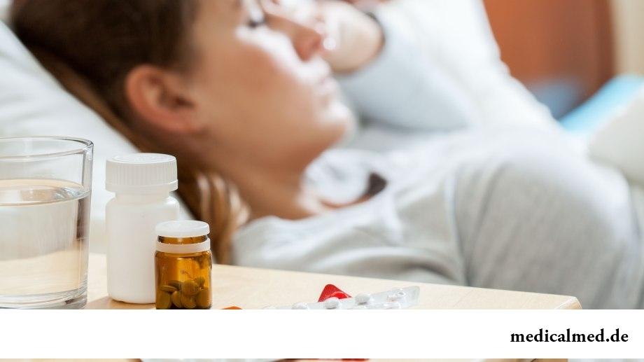 Прием некоторых лекарственных препаратов