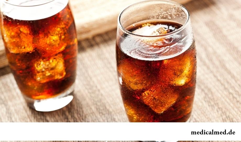 Откажитесь от сладких напитков