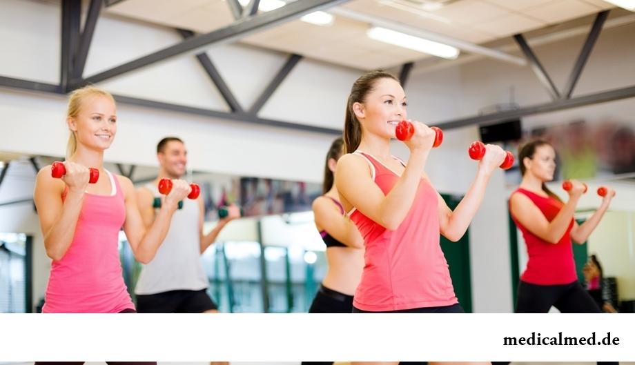 Чередуя упражнения, худеешь быстрее