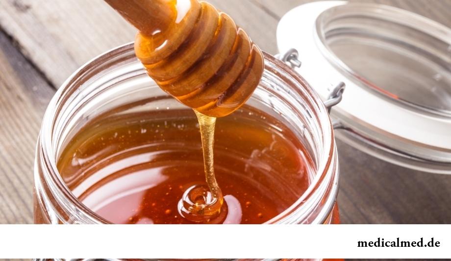 Мед с яичным белком