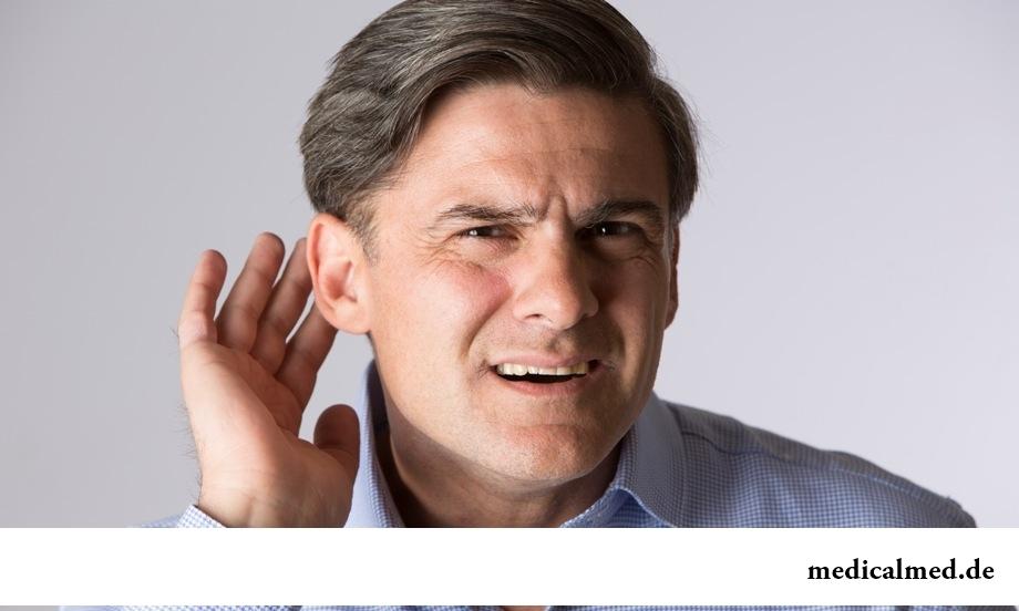 Снижение слуха: основные причины