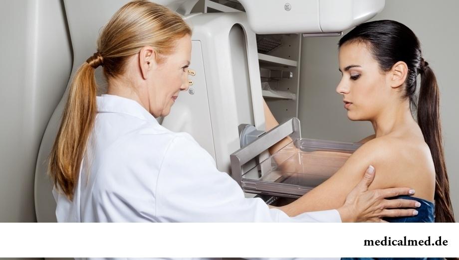 Маммография - исследование, позволяющее выявить новообразования груди на ранних сроких