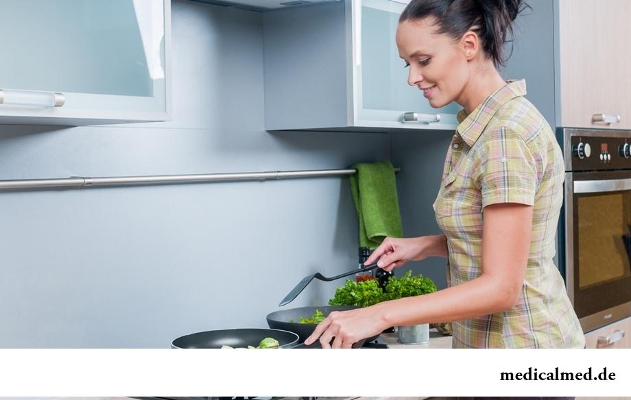 Тесные кухни с газовыми плитами - фактор №6, вредящий здоровью легких