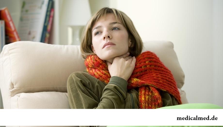 Опасные летние болезни: ангина