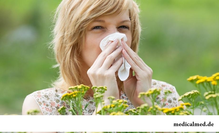 Опасные летние болезни: аллергия
