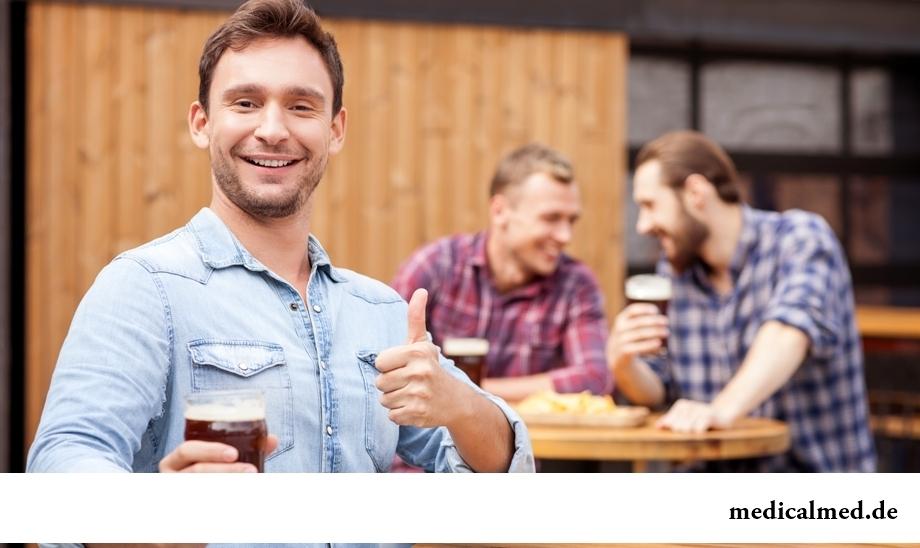 Способность много выпить – признак здоровья