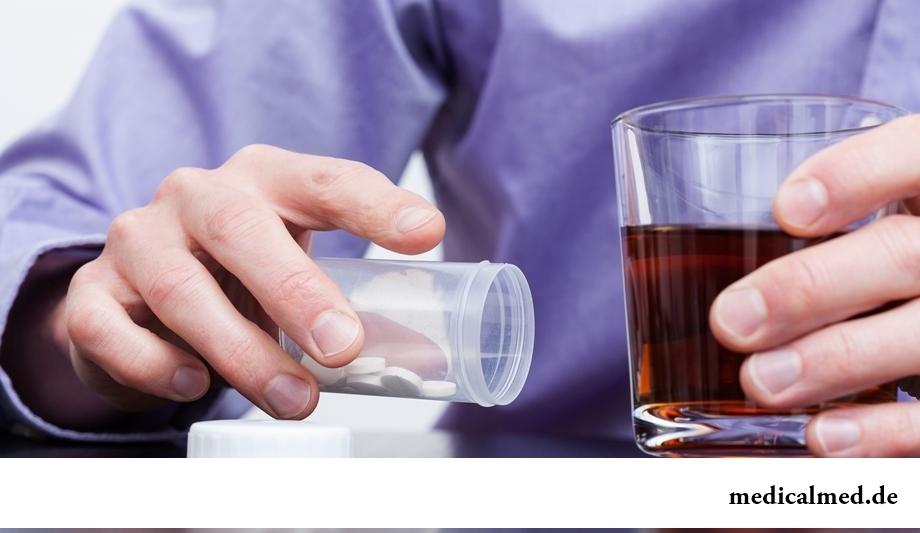 Прием антибиотиков несовместим с употреблением спиртного