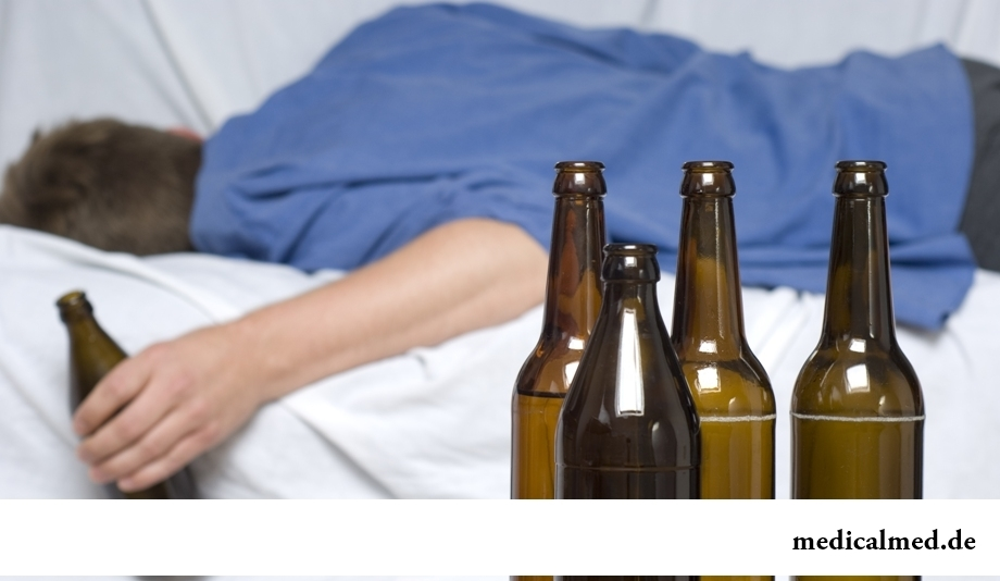 Прием алкоголя улучшает сон
