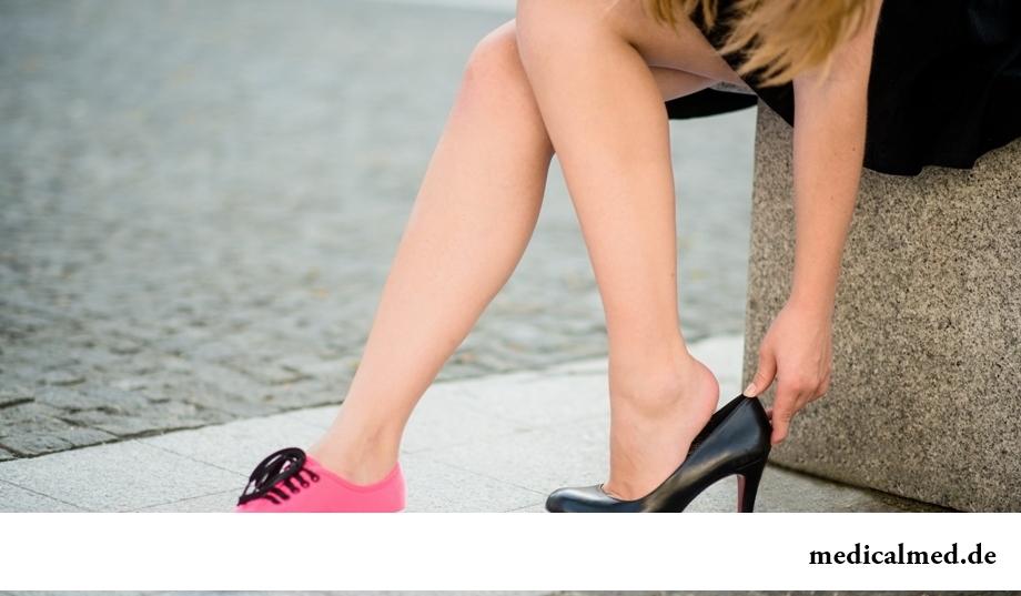 Правило здорового позвоночника: правильная обувь