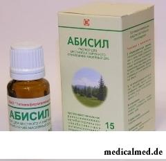 Раствор для местного и наружного применения масляный Абисил