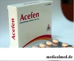 Ацефен в таблетках