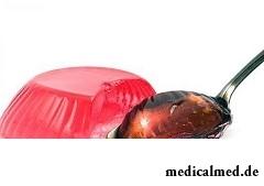 Адипиновую кислоту используют в приготовлении желеобразных десертов