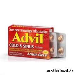 Адвил – лекарственный препарат, который применяется для уменьшения болезненных ощущений при воспалении