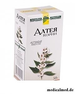 Сырье растительное измельченное Алтея корни