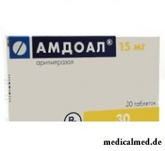 Таблетки Амдоал