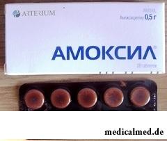 Амоксил таблетки