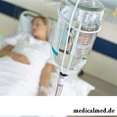 Питание через капельницу больной анорексией