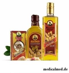 Арахисовое масло - источник насыщенных поликислот