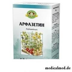 Измельченное сырье Арфазетин