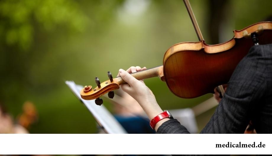 Музыкальные инструменты и их влияние на организм