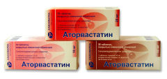 Аторвастатин является гиполипидемическим лекарственным препаратом из группы статинов