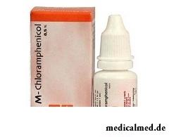 Хлорамфеникол - один из препаратов для лечения атрофического ринита
