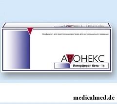 Лиофилизат для приготовления раствора для внутримышечного введения Авонекс