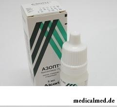 Азопт – глазные капли на основе бринзоламида