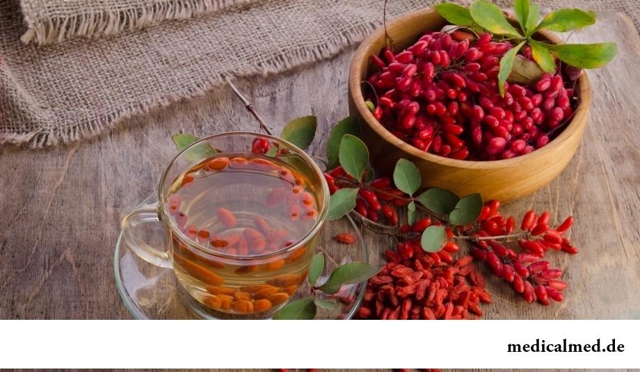 Чай из плодов барбариса