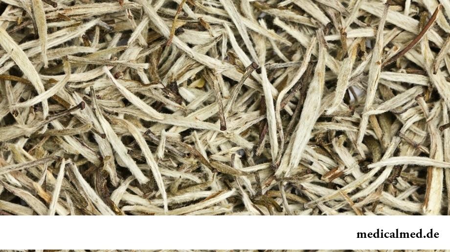Белый чай листовой