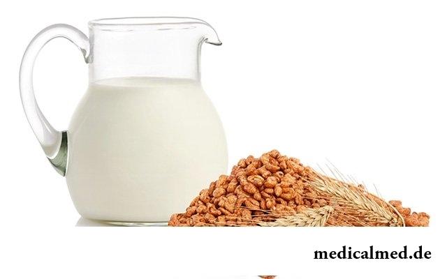 Не употребляйте молочные продукты и пшеницу