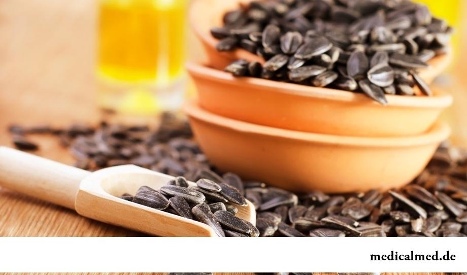 Семена подсолнечника - источник никотиновой кислоты