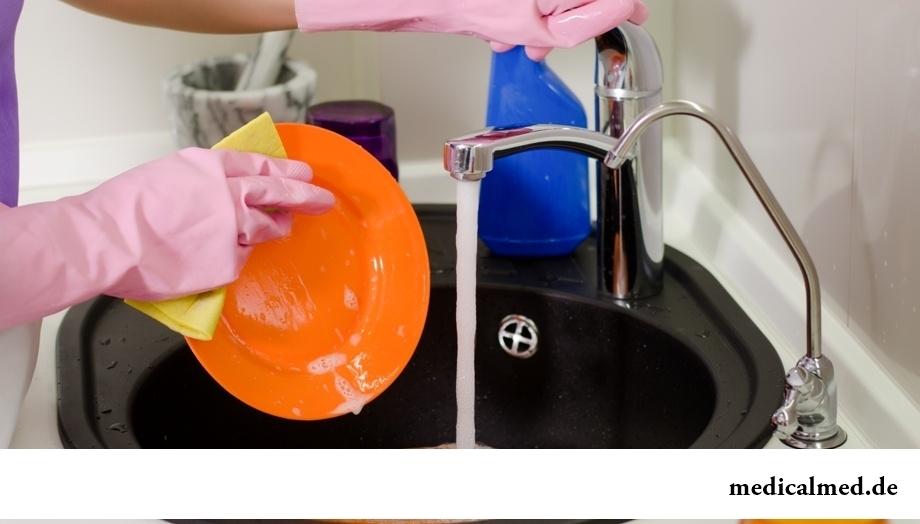 Использование бытовой химии без вреда для здоровья