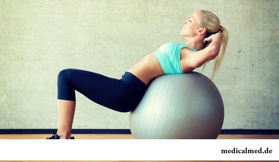 Гимнастика фитбол - упражнения, преимущества, виды
