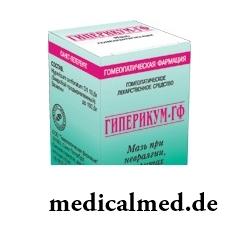 Мазь для наружного применения гомеопатическая Гиперикум-ГФ