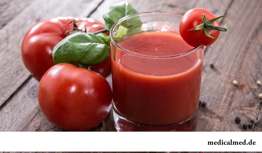 Употребление томатов снижает риск развития недуга