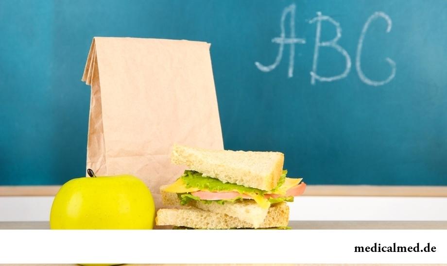 Как организовать правильное питание школьника?