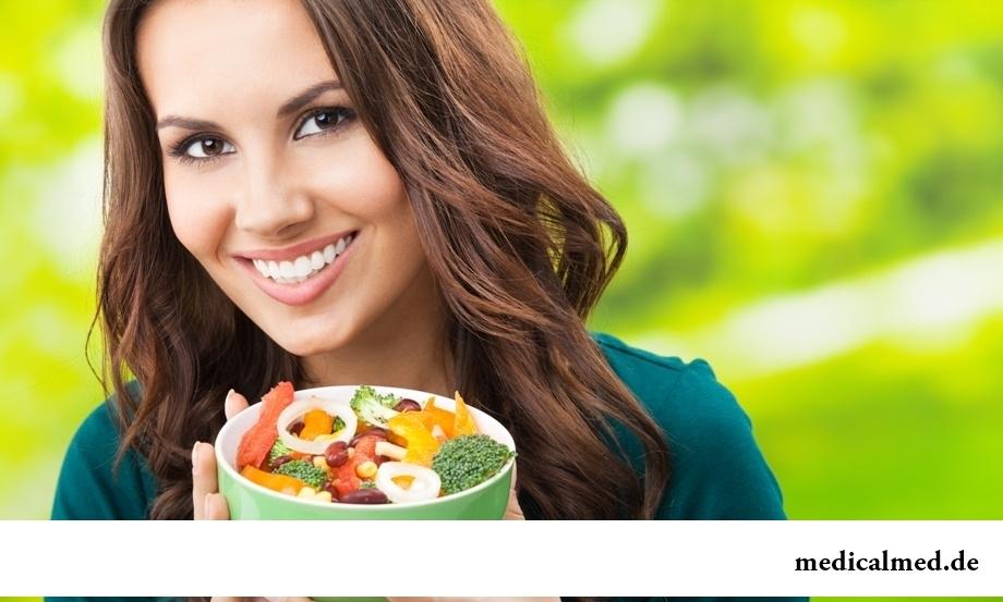 Особенности правильного питания женщин старше 30 лет