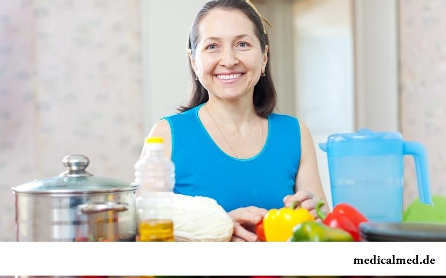 Особенности правильного питания женщин старше 50 лет