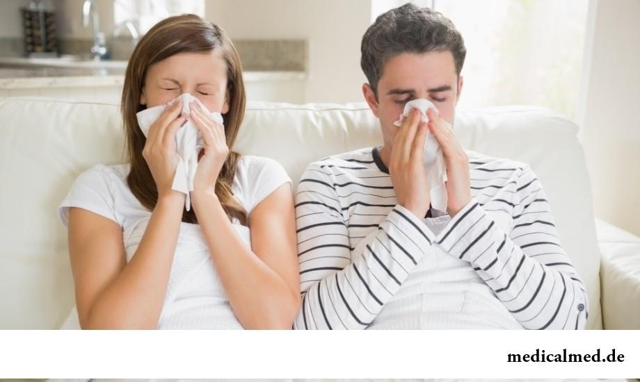 Контакт с больным человеком - одна из причин ОРВИ