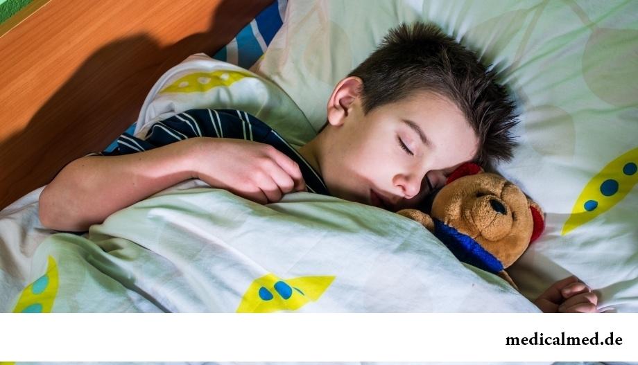 Позаботьтесь о здоровом сне ребенка