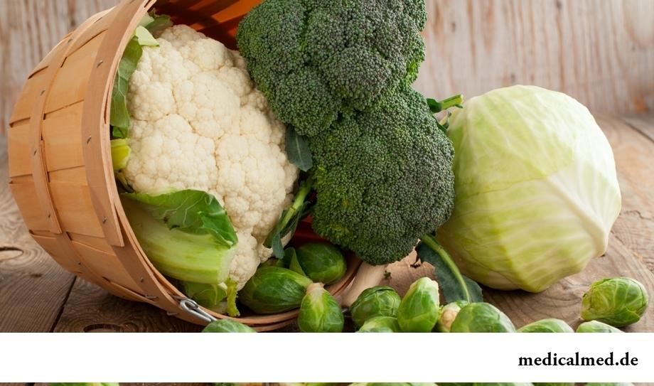 Капуста - овощ, нормализующий работу поджелудочной железы
