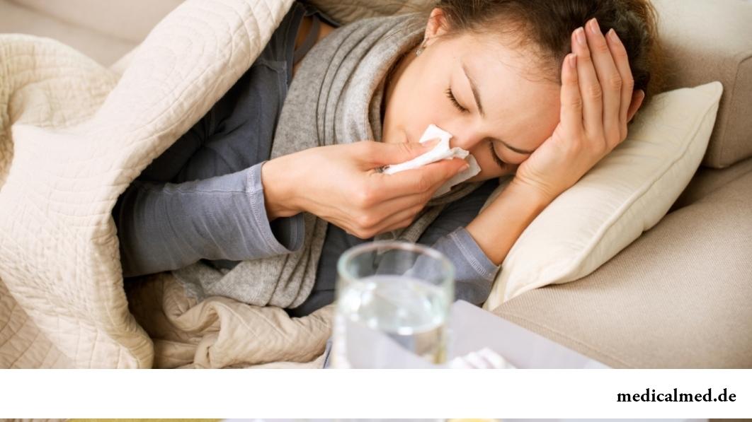 Причины летней простуды